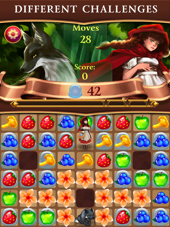 Red Riding Hood: Match & Catch screenshot 10