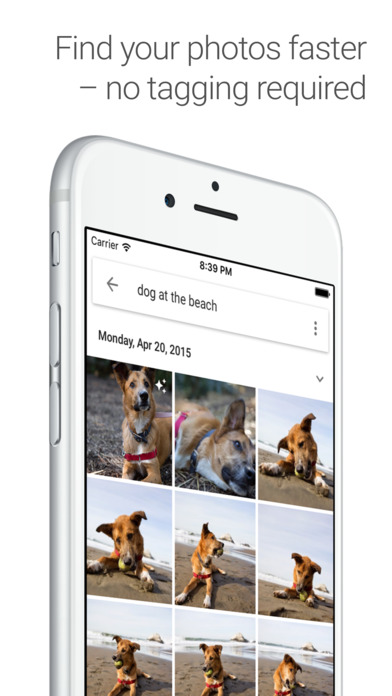 Screenshot for Google Photos - unlimited photo and video storage in United States App Store