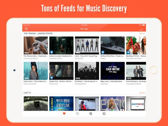 Mobdro Plus- Player for TV, Music & Movie Trailer Screenshots