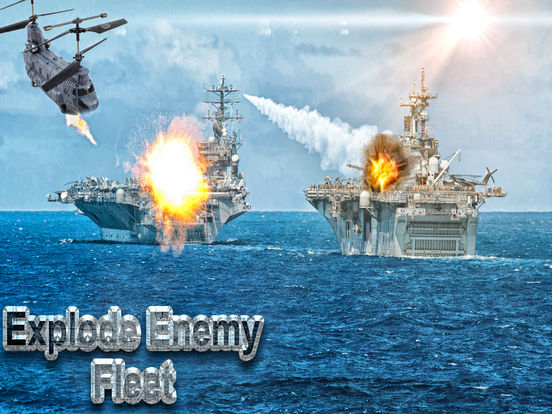 Modern Navy Gunship Sea War 3D screenshot 6