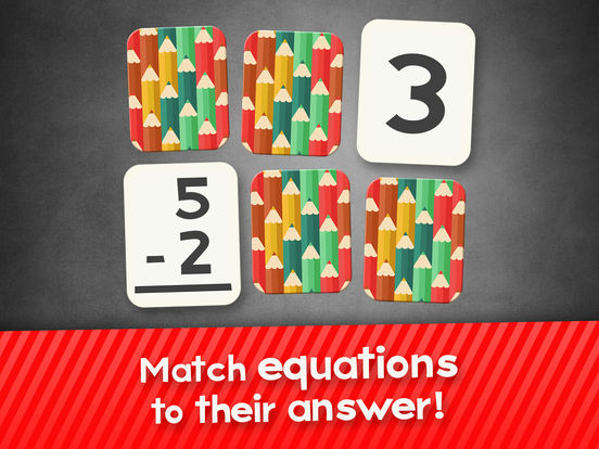 Subtraction Flash Cards Math Games for Kids Freescreeshot 1