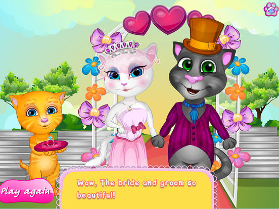 Kids Games:Tom And Angela Wedding Day screenshot 10