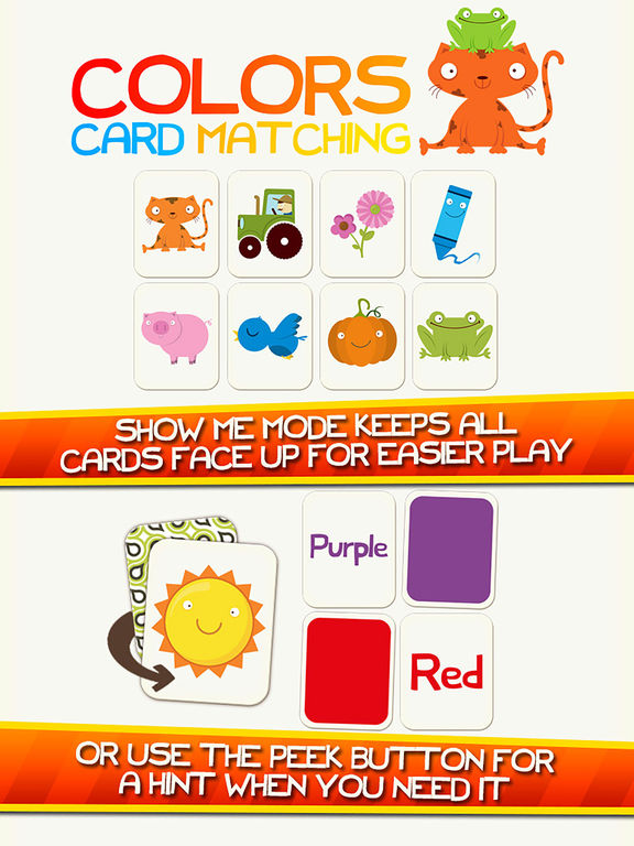 Learn Colors Shapes Preschool Games for Kids Gamesscreeshot 2