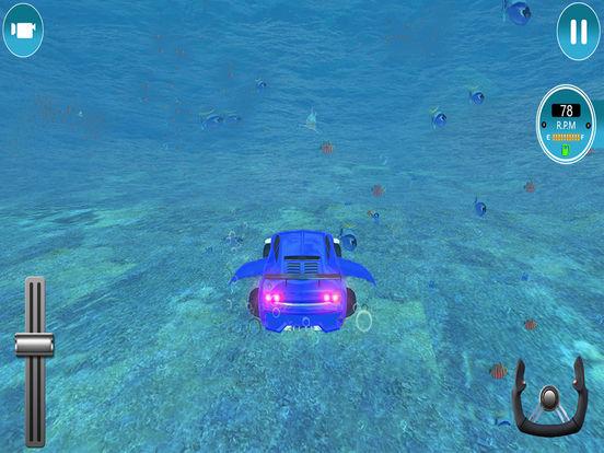 Modern Underwater Flying Car Survival 2017 screenshot 7