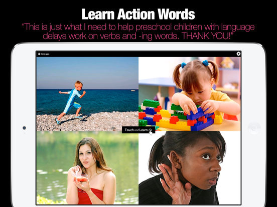 Action Words Screenshots