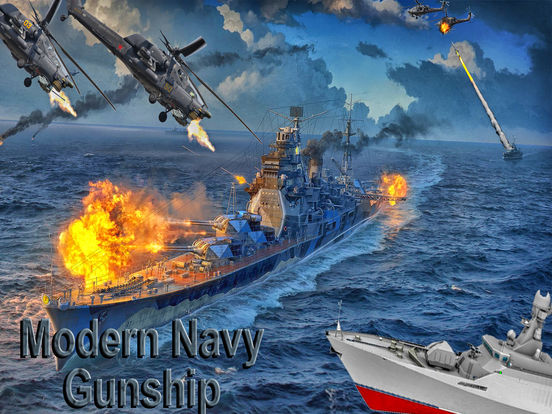 Modern Navy Gunship Sea War 3D screenshot 5
