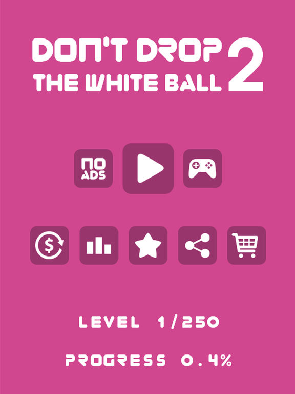 Don't Drop The White Ball 2 Pro Screenshots