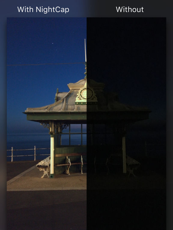 NightCap Camera Screenshots