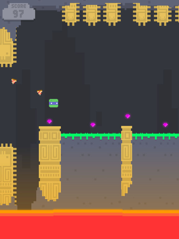 Retro Gaming Challenge Temple Jump Leaps Onto iOS and Android Devices Image
