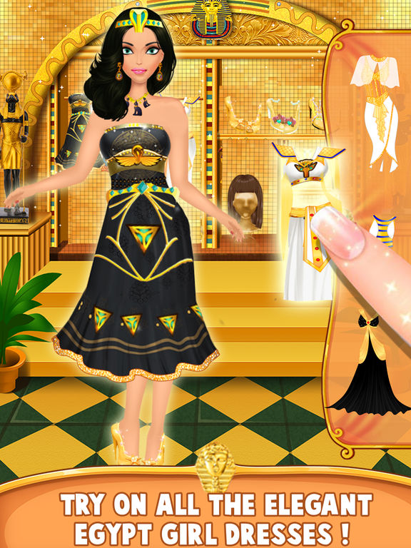 Egypt princess makeup amp salon romaa dressup review and discussion