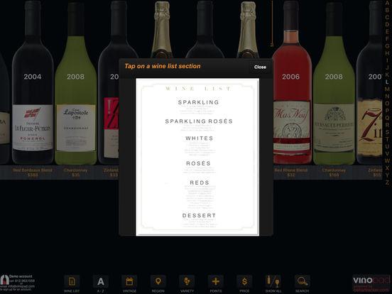 Screenshots for vinopad