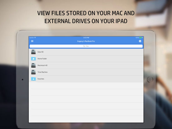 File Manager & Virtual USB Drive for Mac Pro. Скрин 1