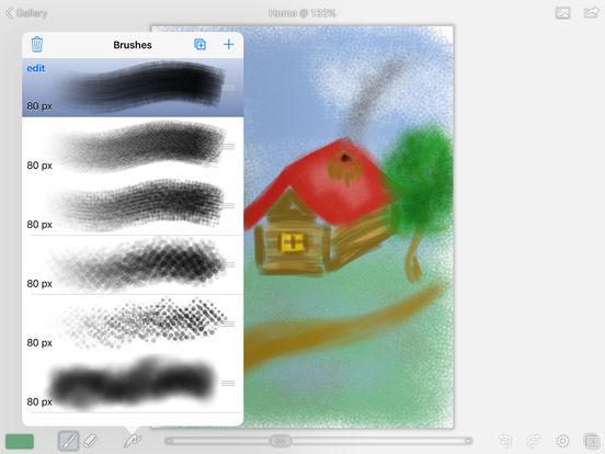 Paint Professional HD. Screenshots