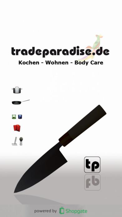 tradeparadise.de - Ihr Shop rund ums Kochen, Lifestyle, Design und Beauty iPhone Screenshot 1