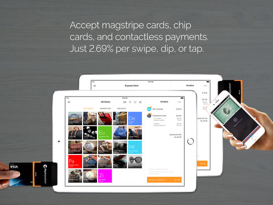Pay Anywhere - Accept Credit Cards iPad Screenshot 1