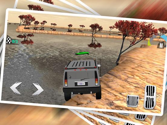 Uphill 4x4 Jeep Driving 3d screenshot 9