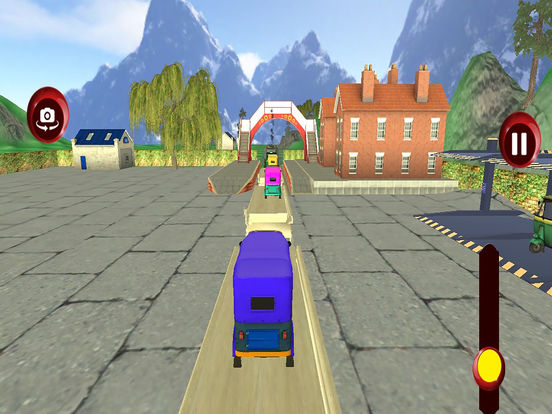 Tuk Tuk Cargo Train Transport Pro screenshot 7