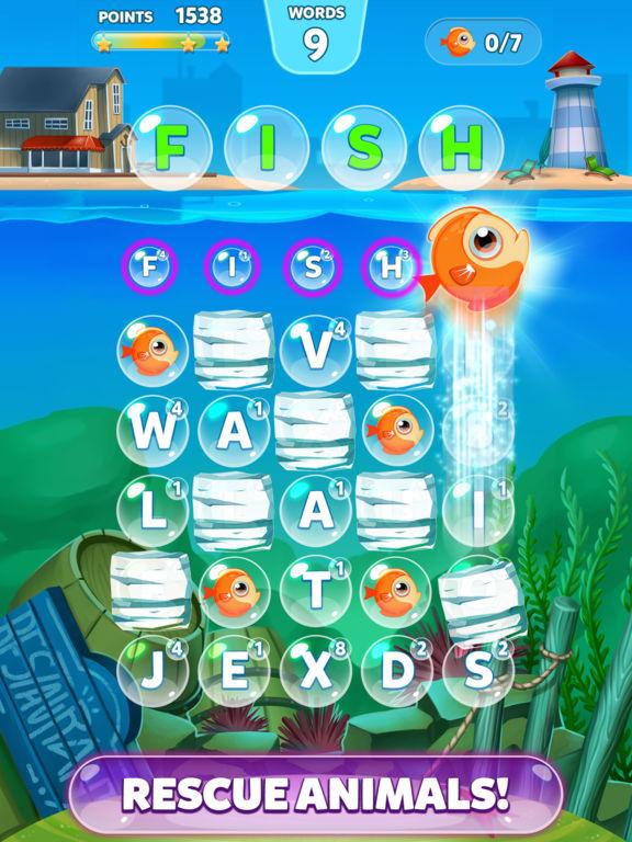 Bubble Words - Letter Splash для iPad