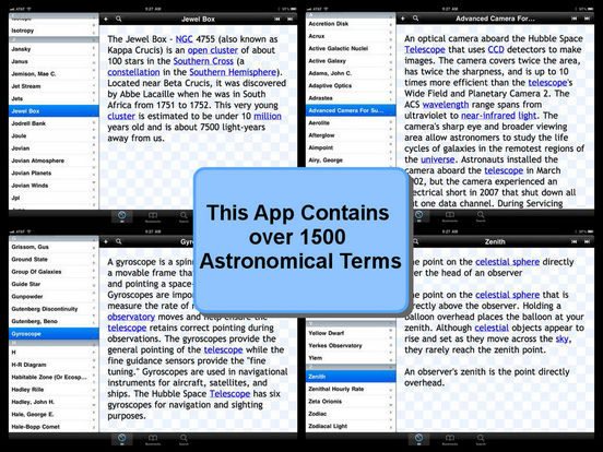 Glossary of Astronomical Terms iPad Screenshot 4