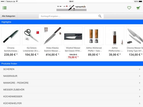 tradeparadise.de - Ihr Shop rund ums Kochen, Lifestyle, Design und Beauty iPad Screenshot 2