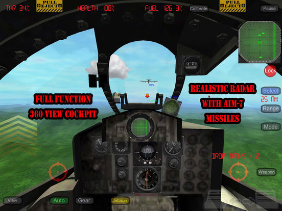 Screenshots of Gunship III - Combat Flight Simulator - FREE for iPad