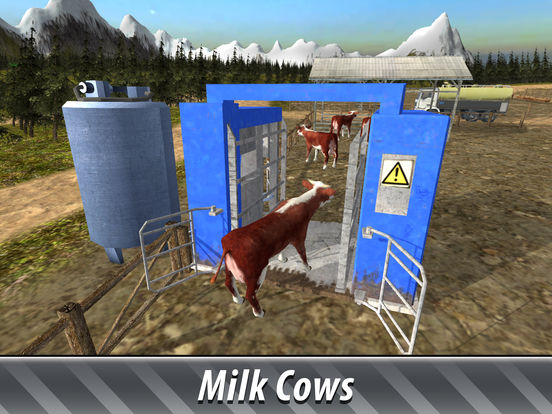 Euro Farm Simulator: Cows Full screenshot 7