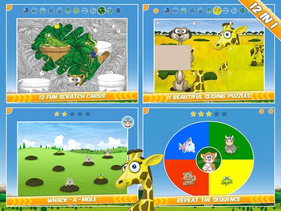 Удивительная игровая площадка со зверюшками