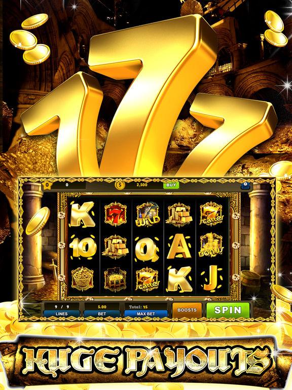 Golden 7's Jackpot slots – City of secret chestscreeshot 1