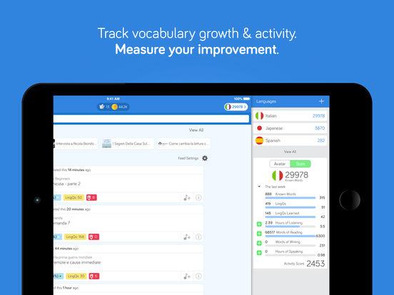 iLingQ Language Learning & Flashcards iPad Screenshot 5