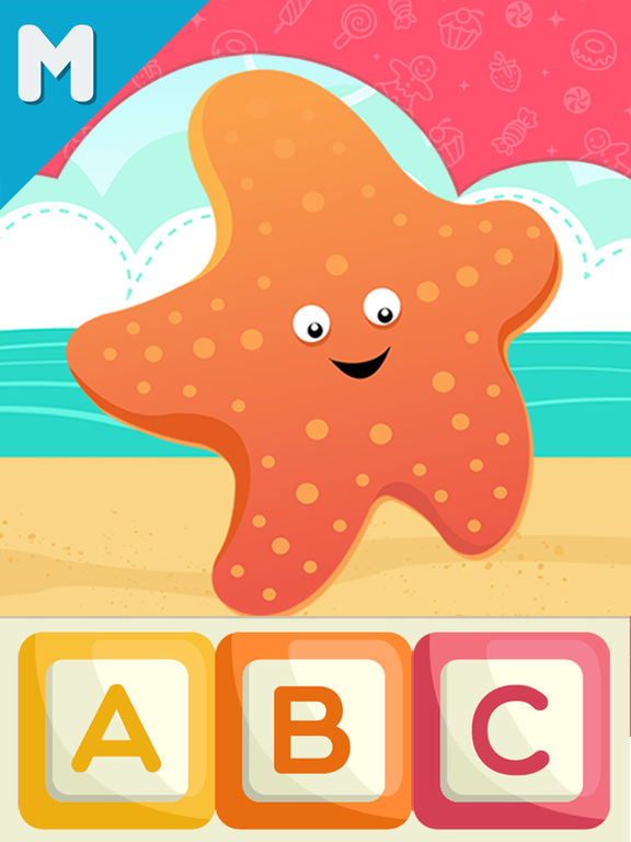ABC First Letters Puzzle Kids School Reading A