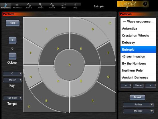 Crystal Synth XT iPad Screenshot 1