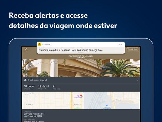 Expedia Hotéis e Voos Screenshot