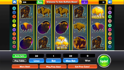 Screenshot 1 Slots — Bison
