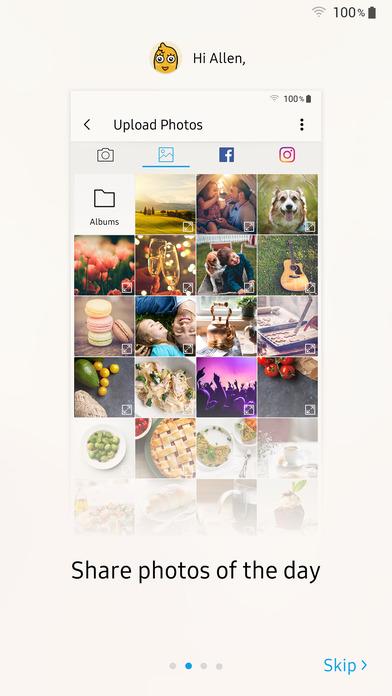 Samsung Family Hub iPhone Screenshot 2
