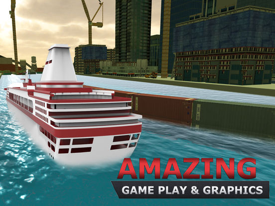 Cruise Ship Parking Simulator Amp Boat Sailing Game On The