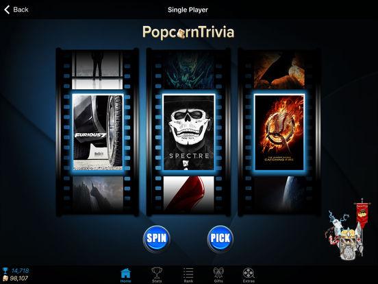 PopcornTrivia Screenshot