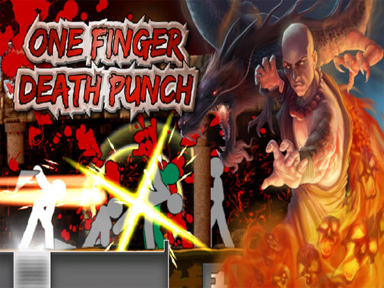 Игра One Finger Death Punch!