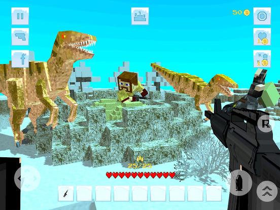 DinoSaur Ice Survival Craft Screenshots
