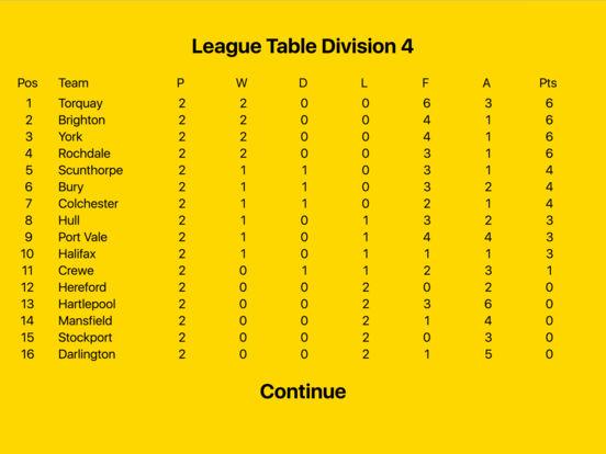 Kevin Toms Football Star Manager iPad Screenshot 5