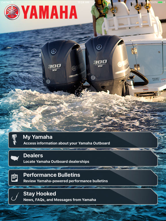 app shopper yamaha outboards for ipad lifestyle