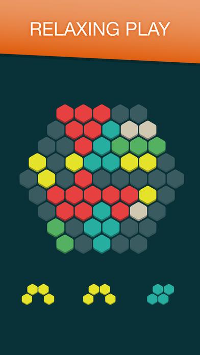 Hex FRVR - Hexagon Puzzle Game - AppRecs