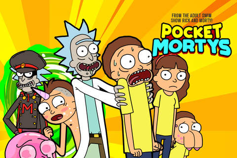 Rick and Morty: Pocket Mortys screenshot 1