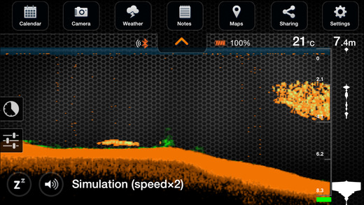 deeper smart sonar on the app store, Fish Finder