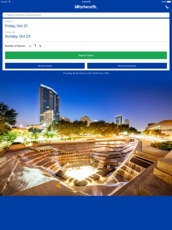 App Shopper I4fortworth Fort Worth Hotels Yellow Pages Travel