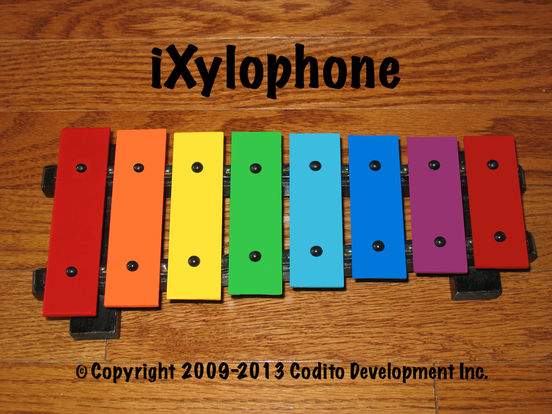 iXylophone Lite - Play Along Xylophone For Kids Of All Ages iPad Screenshot 1