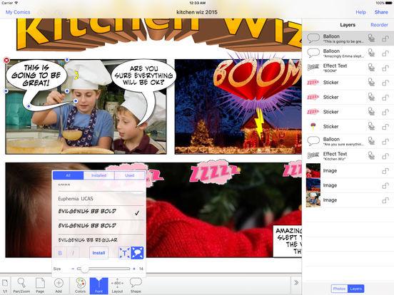 Strip Designer iPad Screenshot 3