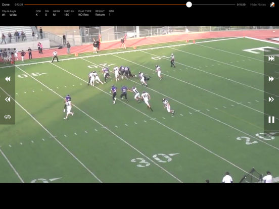 Hudl screenshot 7