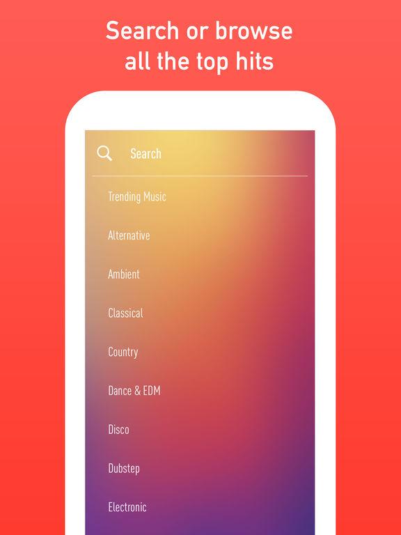 SongFlip - Free Music Streamer screenshot 5
