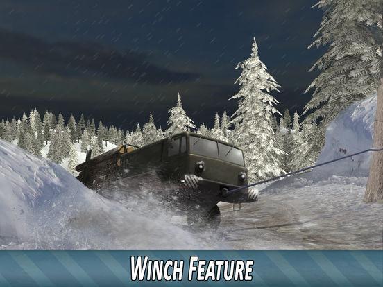 Скачать Winter Timber Truck Simulator
