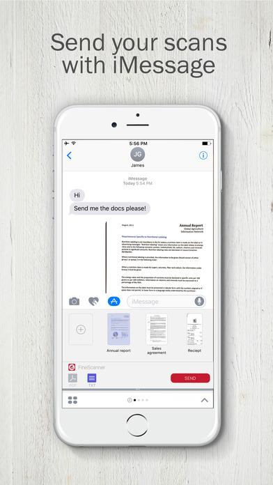 FineScanner - PDF Document Scanner App + OCR Screenshots